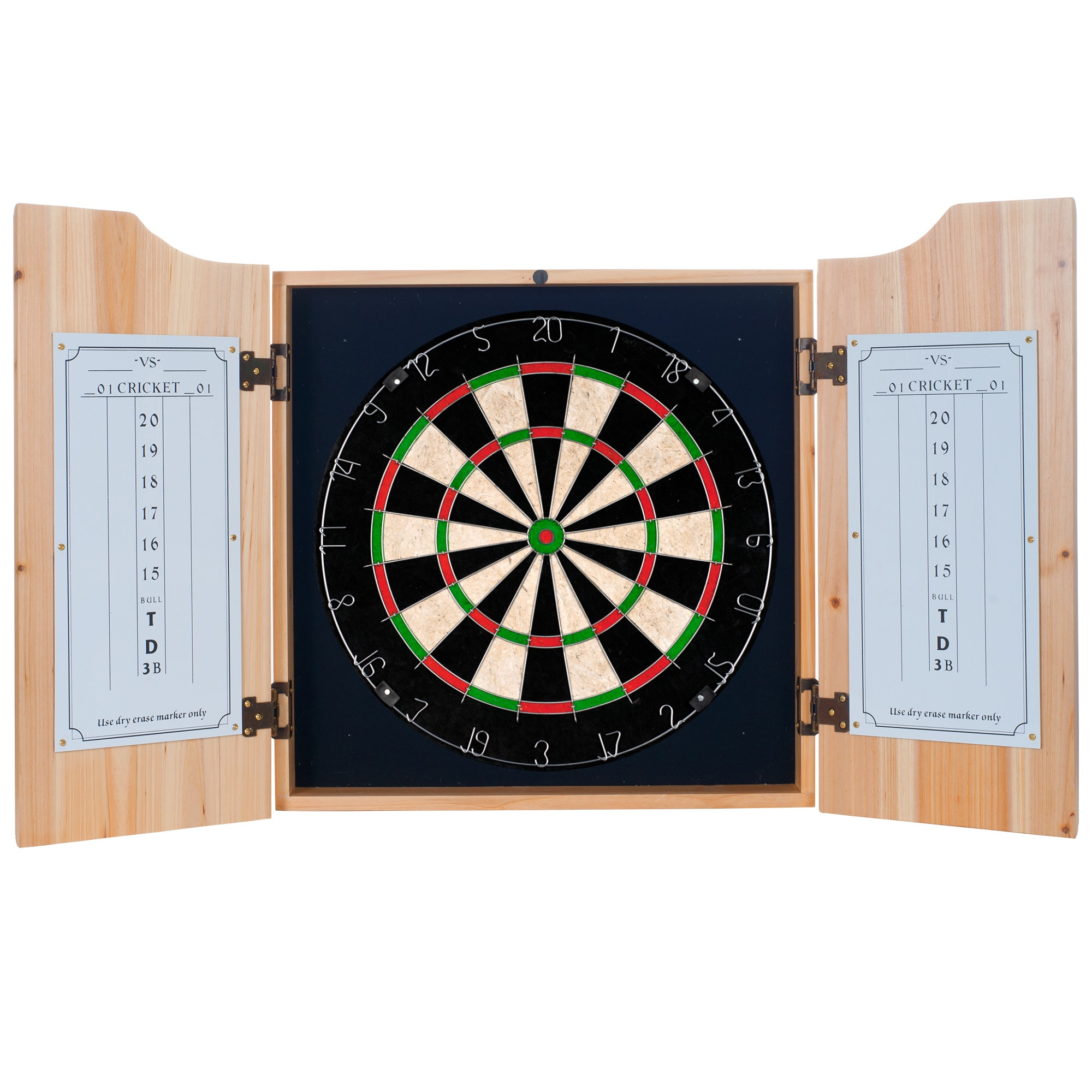 Shop Budweiser Dart Board Cabinet Set Overstock 7720692
