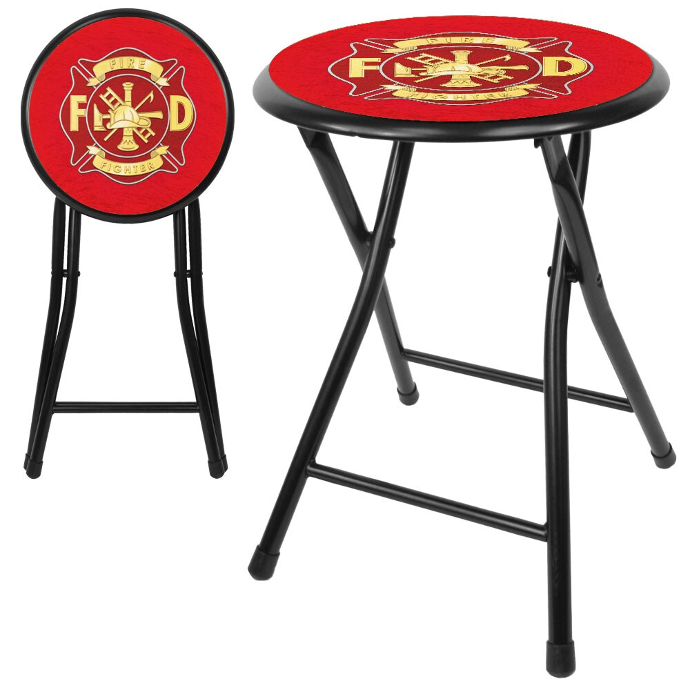 Trademark Gameroom Fire Fighter 18-inch Cushioned Folding...