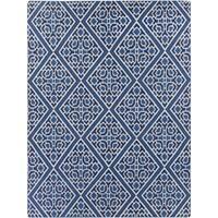 Hand-woven Aetos Flatweave Reversible Wool Area Rug - 8' x 11'