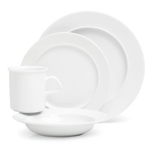 Dansk Cafe Blanc Porcelain 4-piece Place Setting