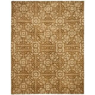 Safavieh Handmade Majestic Beige Wool Rug (11' x 17')