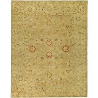Safavieh Handmade Antiquity Light Brown/ Beige Wool Rug - 11' x 15'