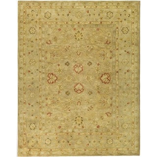 Safavieh Handmade Majesty Light Brown/ Beige Wool Rug (11' x 16')