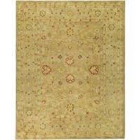 Safavieh Handmade Majesty Light Brown/ Beige Wool Rug - 11' x 16'