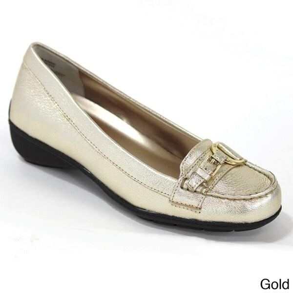 Ralph Lauren Women's 'Geanne' Leather Loafers