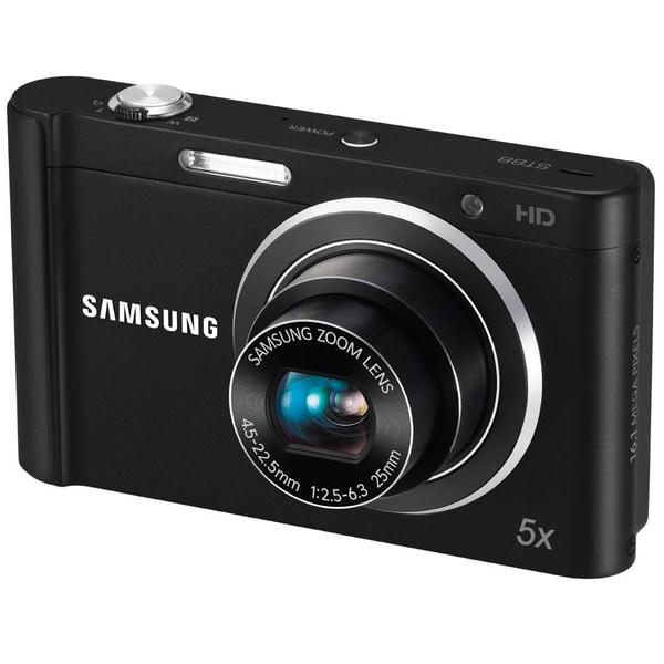 Samsung ST88 16MP Black Digital Camera