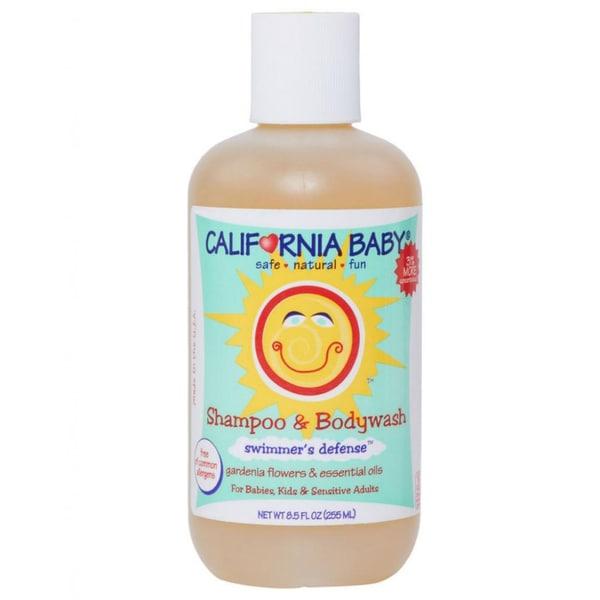California Baby Swimmer's Defense 8.5-ounce Shampoo & Body Wash