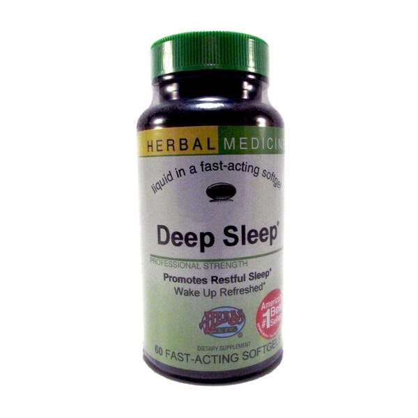 Herbal Medicine Deep Sleep Fast-acting Dietary Supplement (60 Softgels)