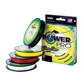 Power pro super 8 slick 40 pound 150 yard braided fishing for 20 lb braided fishing line