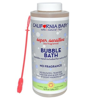 California Baby Super Sensitive 13-ounce Bubble Bath