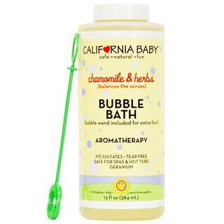 California Baby Chamomile & Herbs Bubble Bath