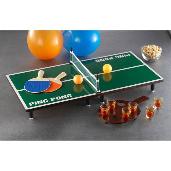 Game Night Table Tennis Game Set