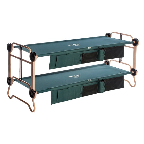 Large Disc-O-Bed with 2 Side Organizers