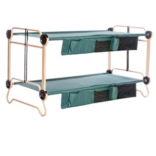 Disc-O-Bed Cam-O-Bunk XL Green Bunk Bed