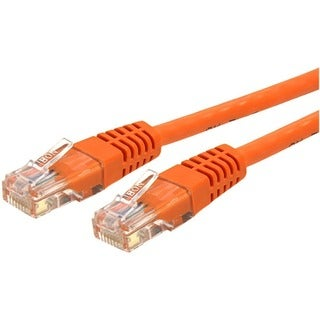 StarTech.com 6 ft Cat 6 Orange Molded RJ45 UTP Gigabit Cat6 Patch Cab