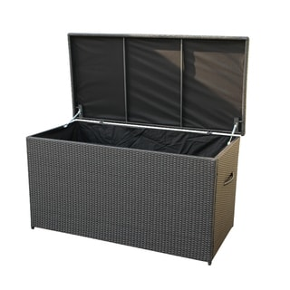 CASSONE Resin Wicker Cushion Storage Box