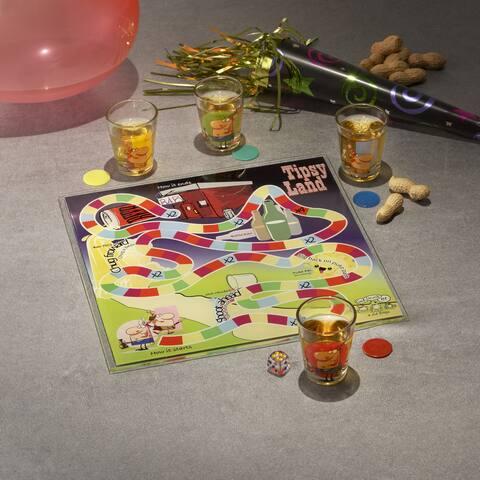 Game Night 'Tipsyland' Drinking Game