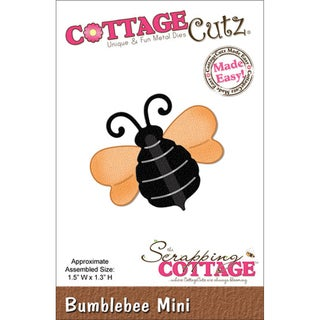 "CottageCutz Mini Die 1.75""X1.75""-Bumblebee"