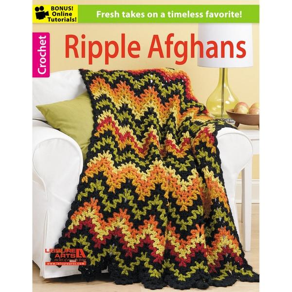 Leisure Arts-Ripple Afghans