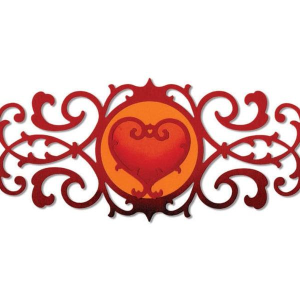 Sizzix Thinlits Die-Decorative Border & Heart