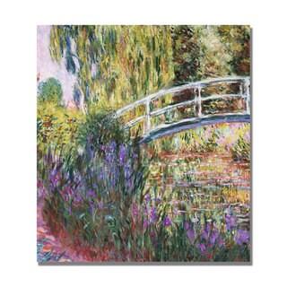 Claude Monet 'The Japanese Bridge IV' Canvas Art.
