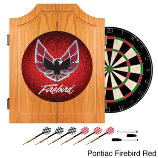 Pontiac Firebird Wood Dart Cabinet Set (2 options available)