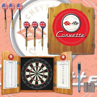 Corvette Red Dart Board Cabinet Set|https://ak1.ostkcdn.com/images/products/7722673/7722673/Corvette-Red-Dart-Board-Cabinet-Set-P15125566.jpg?impolicy=medium