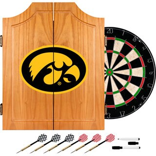 Officially Licensed NCAA Collegiate Dart Cabinet Set (More options available)