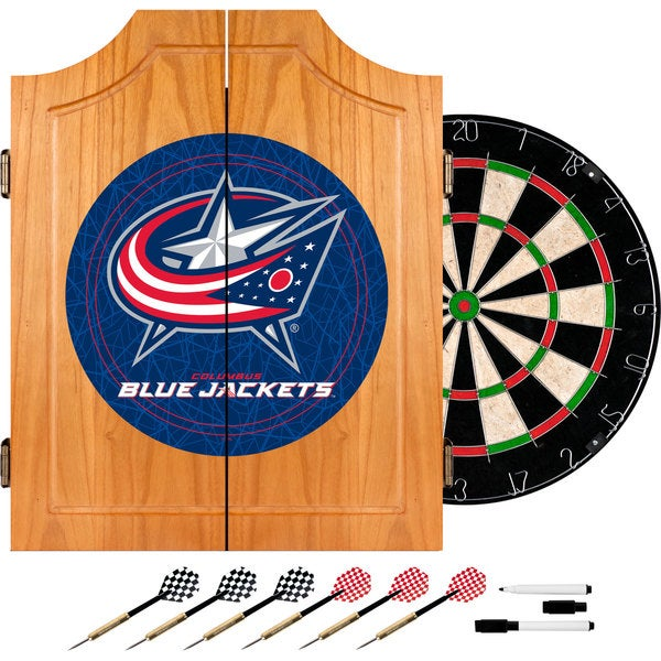 Officially Licensed NHL Dart Cabinet