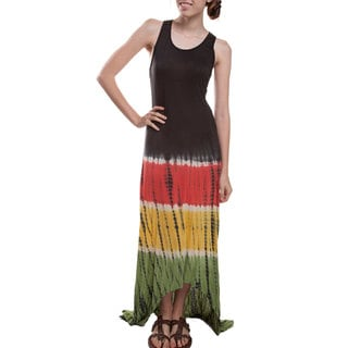 Rasta Tie/Dye Long Dress (Nepal)