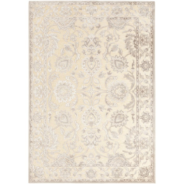 Celmens Traditional Grey Oriental Area Rug (7'6 x 10'6)
