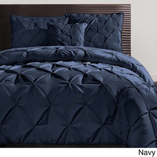 VCNY Carmen 3-piece Pintuck Duvet Cover Set (More options available)