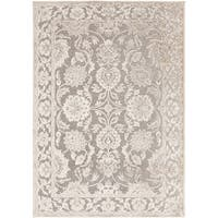 Laurel Creek Bridget Oriental Border Area Rug - 5'3 x 7'6