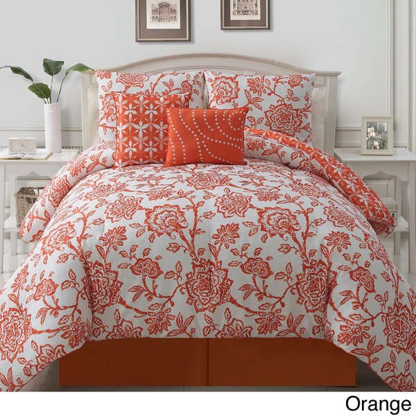 VCNY Jordin 5-piece Reversible Comforter Set