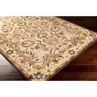 "Bodil Traditional Beige Oriental Area Rug - 7'6"" x 10'6"""