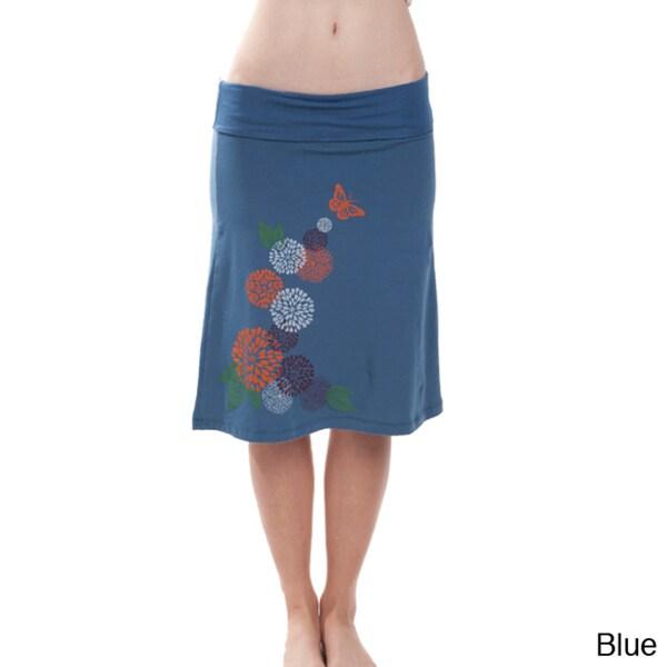 Whimsical Garden Summer Skirt (Nepal)