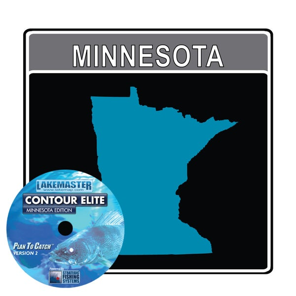 Lakemaster Contour Elite Mapping Software