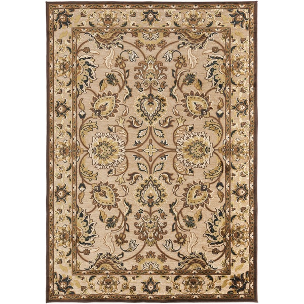 "Bodil Traditional Beige Oriental Area Rug - 2'2"" x 3'"
