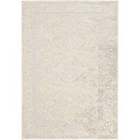Copper Grove Aloia Traditional Ivory Oriental Area Rug - 7'6 x 10'6