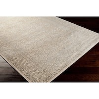 Bent Traditional Grey Oriental Area Rug - 5'2 x 7'6