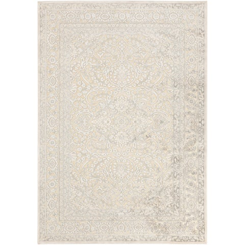 "Copper Grove Shoals Ivory Oriental Area Rug - 2'2"" x 3'"