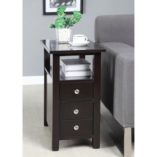 Dark Espresso Side Table