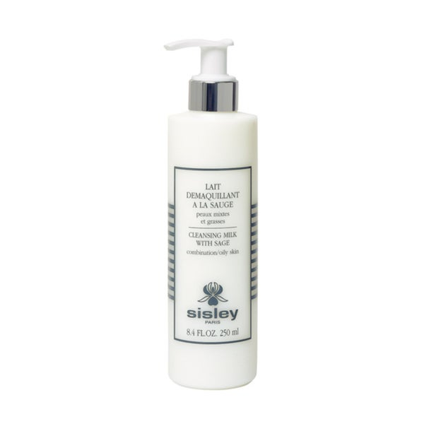 Sisley 8.4-ounce Cleansing Milk with Sage Combination/Oily Skin