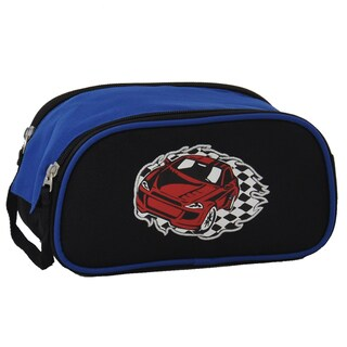 Obersee Racecar Kids Toiletry / Accessory Bag
