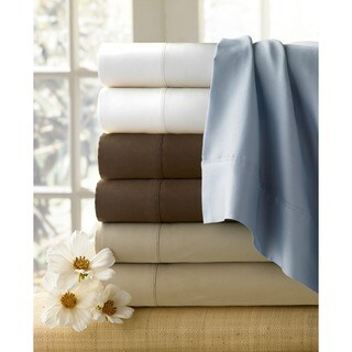 Basics Combed Cotton Collection 300 Thread Count Pillowcases (Set of 2)