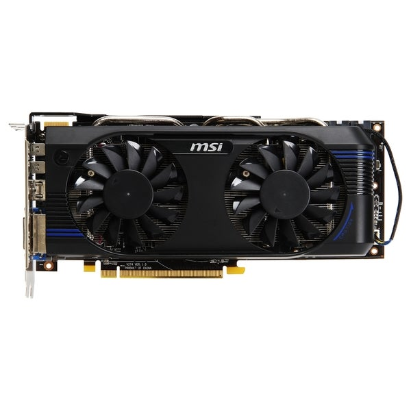 MSI R7870-2GD5T/OC Radeon HD 7870 Graphic Card - 1.05 GHz Core - 2 GB