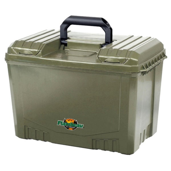 Flambeau Green Dry Marine Box with Zerust