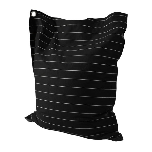 Powell Phoebe Striped Black and White Bean Bag