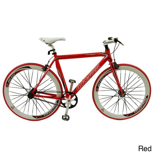 Micargi Prestigio Hi-ten Steel Frame Freewheel and Fixed Gear Bicycle