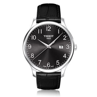 Tissot Men's T0636101605200 'Tradition' Black Swiss Quartz Watch
